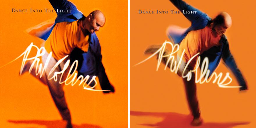 Phil Collins recrea todas las portadas de sus discos para su nuevo proyecto 005