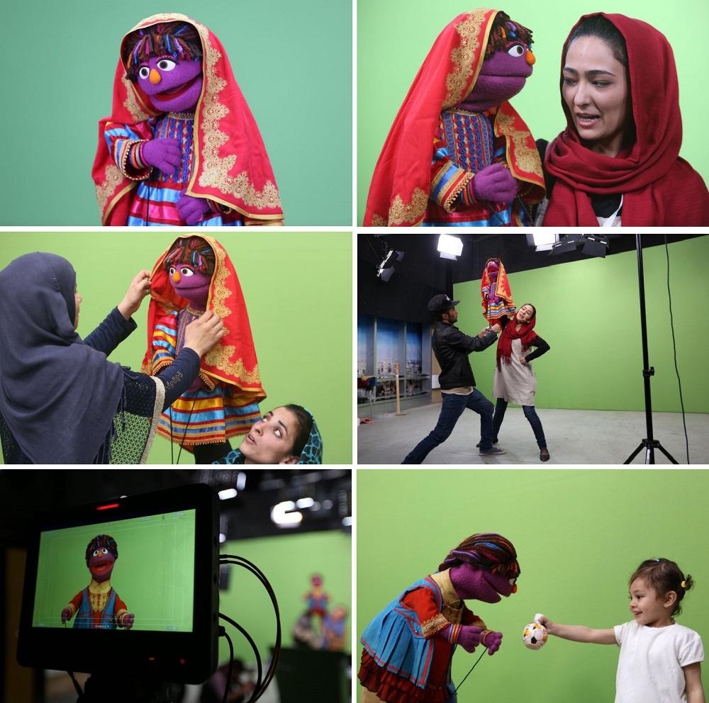 Plaza Sésamo presenta una nueva integrante de Afganistán que llega para promover los derechos de la mujer 04