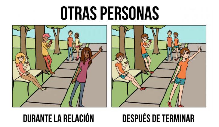 Salir de una relación cambia tu perspectiva y estas ilustraciones te lo demuestran 4