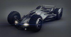 Si Batman incursionara en el mundo de la F1, probablemente este sería su carro