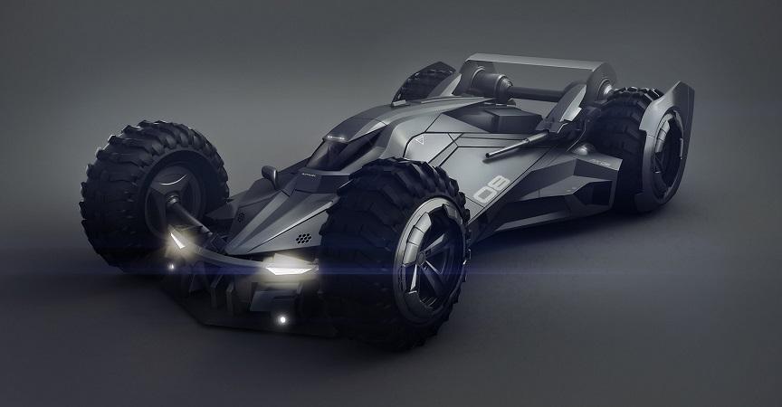 Si Batman incursionara en el mundo de la F1, probablemente este sería su carro 1a
