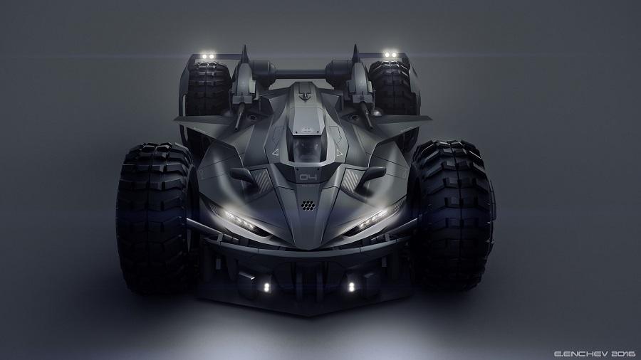 Si Batman incursionara en el mundo de la F1, probablemente este sería su carro 1c