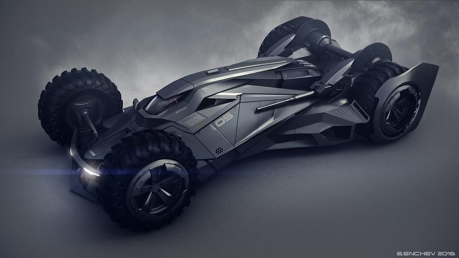 Si Batman incursionara en el mundo de la F1, probablemente este sería su carro 1e