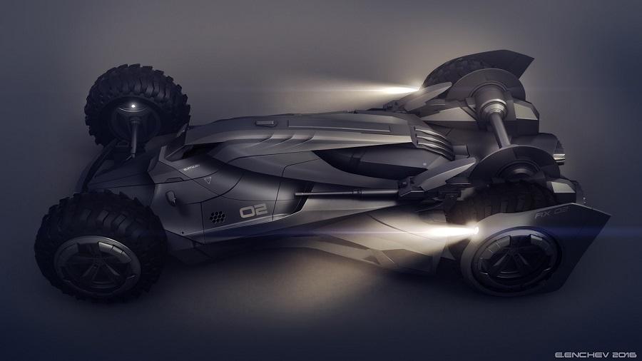 Si Batman incursionara en el mundo de la F1, probablemente este sería su carro 1f