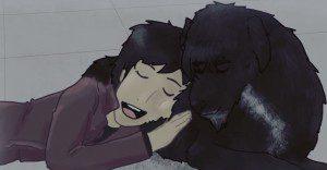 Su perro murió y él decide recordarlo con emotivo cortometraje