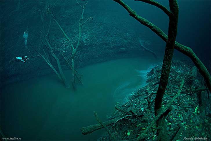 Surreal río bajo el marb21