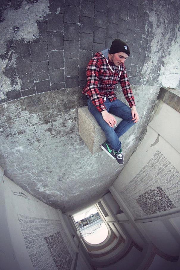 Surrealistas fotos que juegan con la perspectiva 19