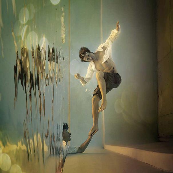 Surrealistas fotos que juegan con la perspectiva 7