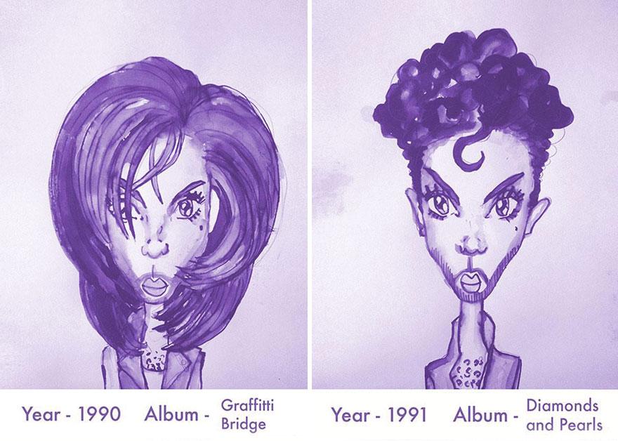 Todos los peinados de Prince, de 1978 hasta el 2013 07