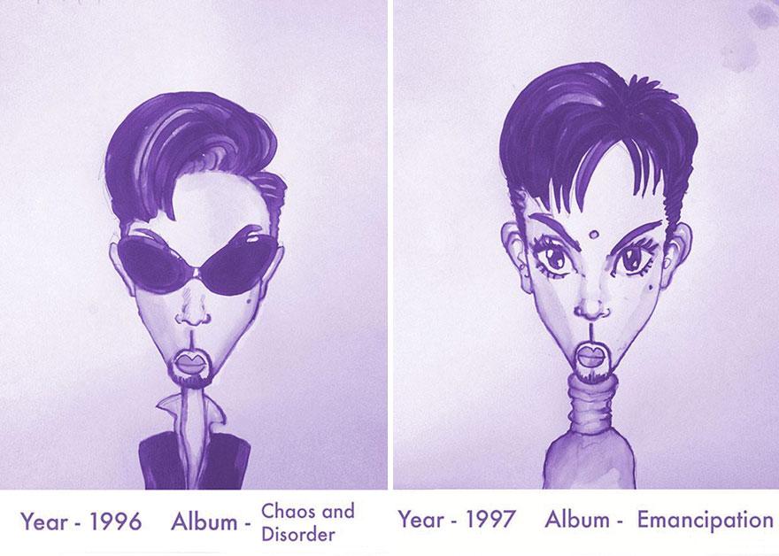 Todos los peinados de Prince, de 1978 hasta el 2013 10
