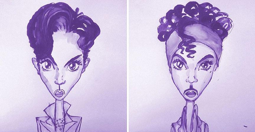 Todos los peinados de Prince, de 1978 hasta el 2013