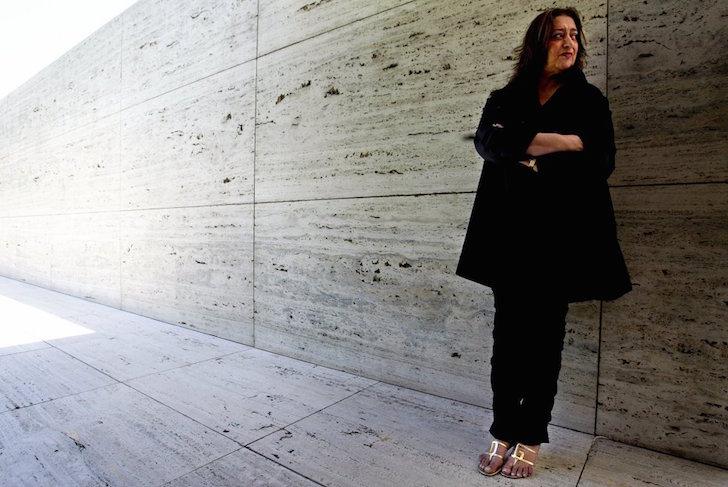 Trabajo del ícono de la arquitectura Zaha Hadid 1