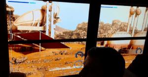 Un alucinante autobús escolar que lleva a los alumnos a Marte