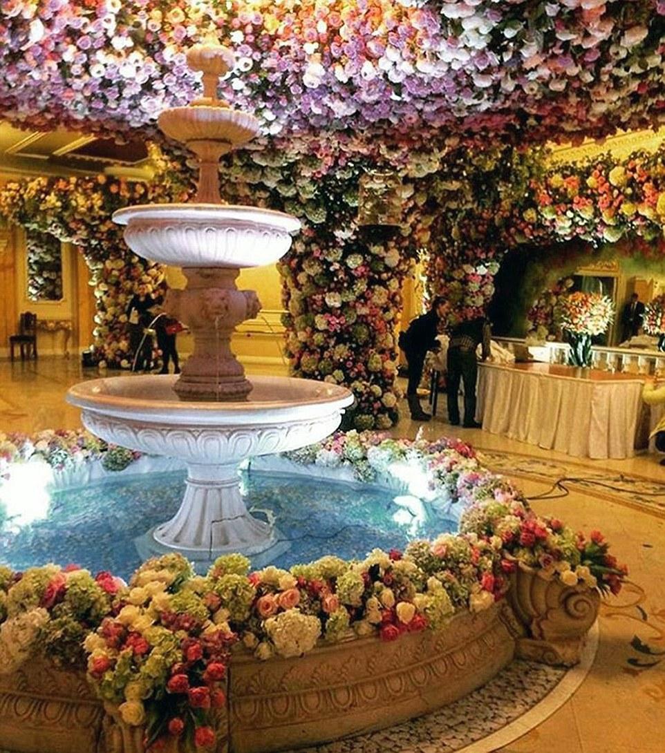 Un magnate ruso gastó $1 billón de dólares en el matrimonio de su hijo 05
