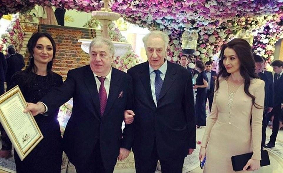Un magnate ruso gastó $1 billón de dólares en el matrimonio de su hijo 10