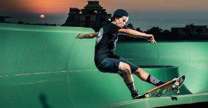 Un parque acuático es cerrado para ser usado como skatepark. El resultado es sorprendente