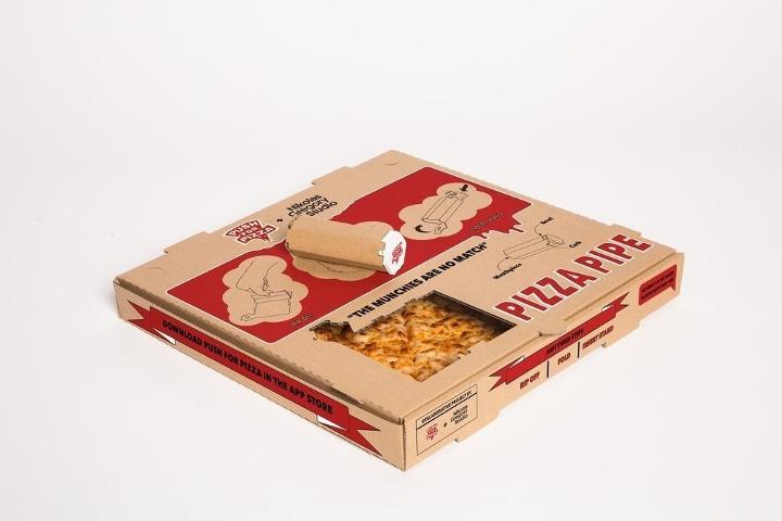 Una caja de pizza con un segundo uso muy particular 06