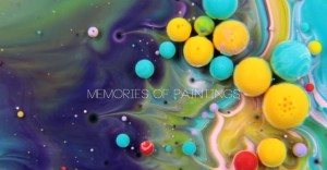 Coloridas y surrealistas obras hechas con aceite, pintura y leche