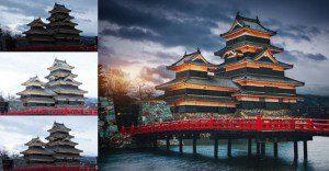 El antes y el después de fotos editadas