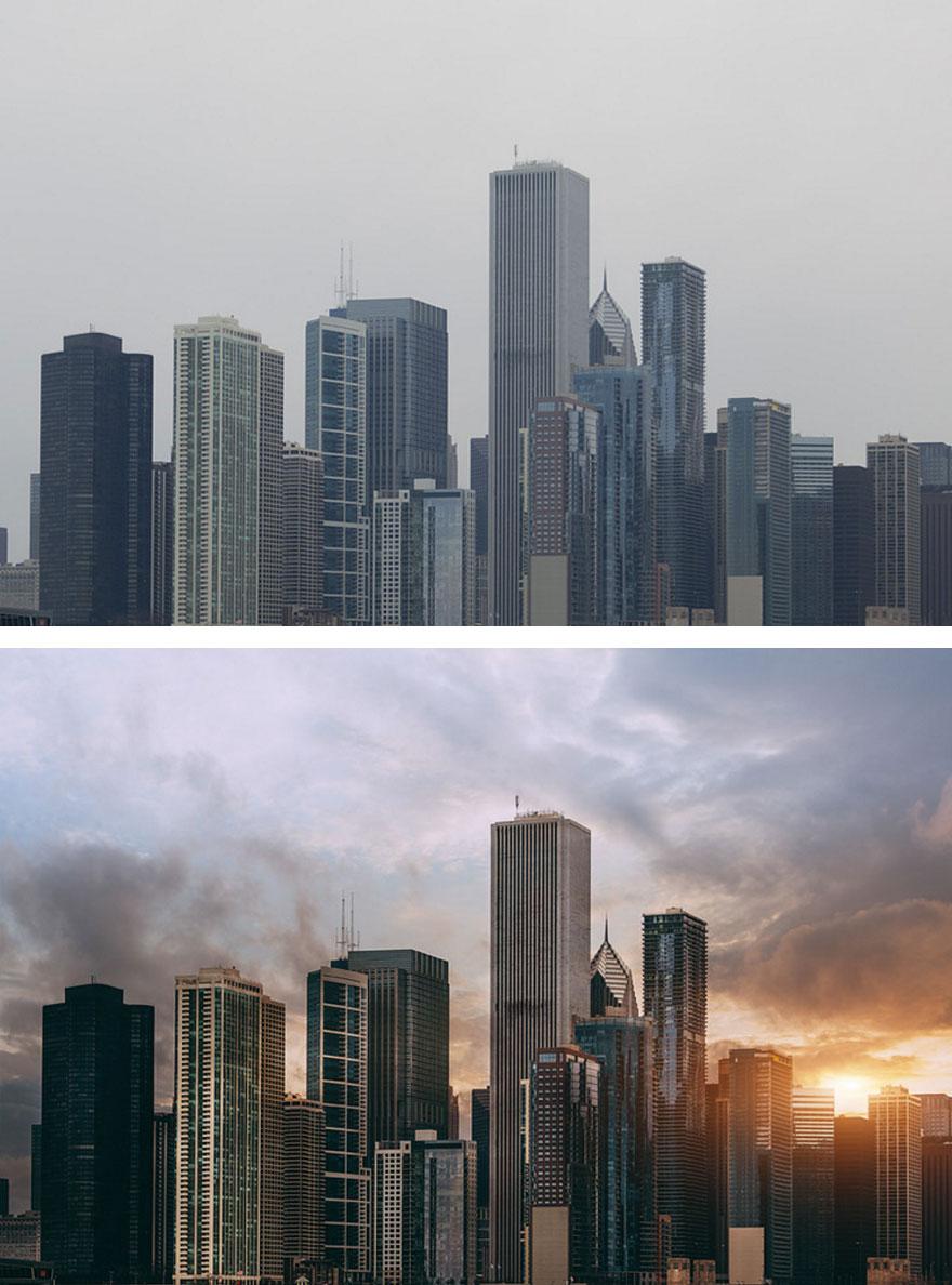 el antes y el después de fotos editadas  7