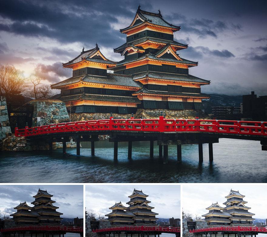 el antes y el después de fotos editadas 8