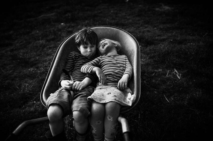 fotos retratan infancia libre sin tecnologías 14
