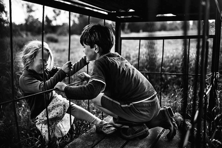 fotos retratan infancia libre sin tecnologías 16