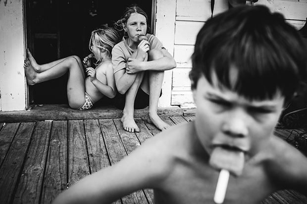 fotos retratan infancia libre sin tecnologías 7