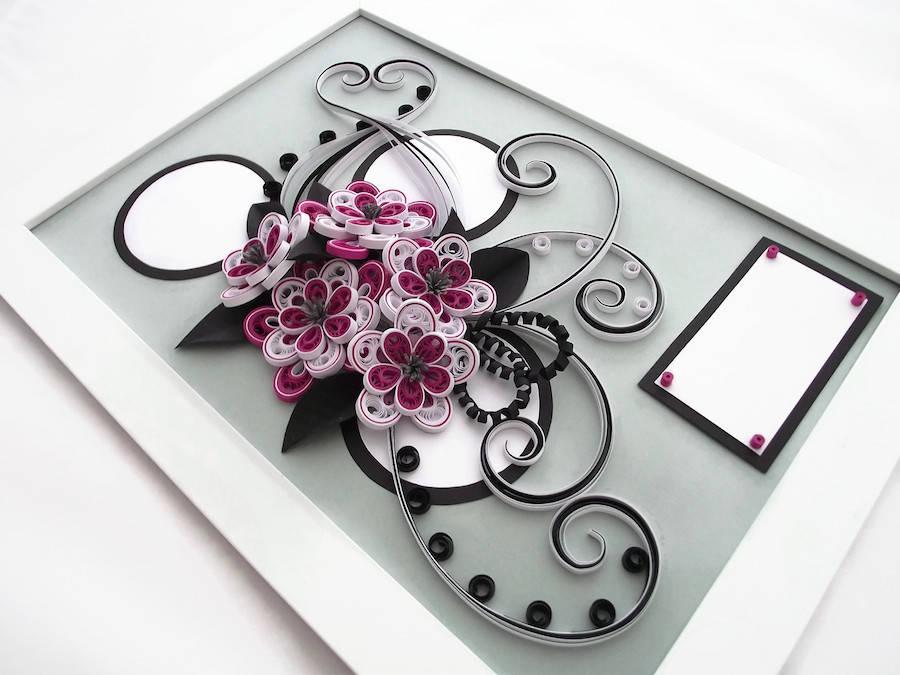 hermosas esculturas de flores hechas de papel3