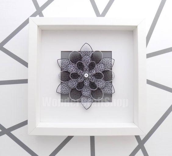 hermosas esculturas de flores hechas de papel7