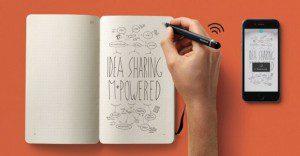 Set de escritura inteligente digitaliza tus dibujos hechos a mano en tiempo real