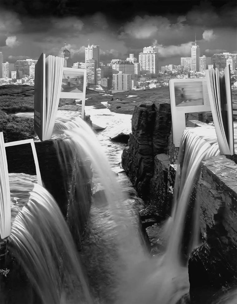surrealista fotomontaje analógico 10