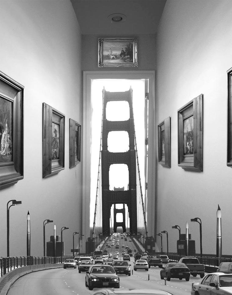 surrealista fotomontaje analógico 12
