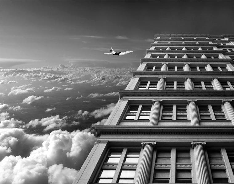 surrealista fotomontaje analógico 13