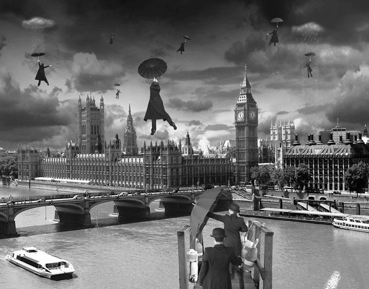 surrealista fotomontaje analógico 17