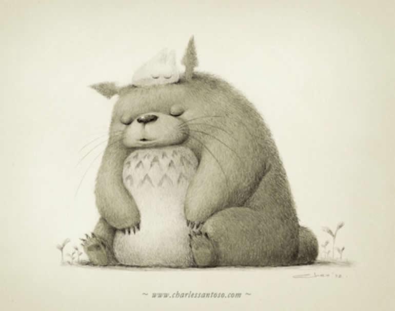 tiernas y adorables ilustraciones