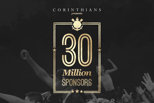 30 millones de sponsors para incrementar las arcas del Corinthians 01