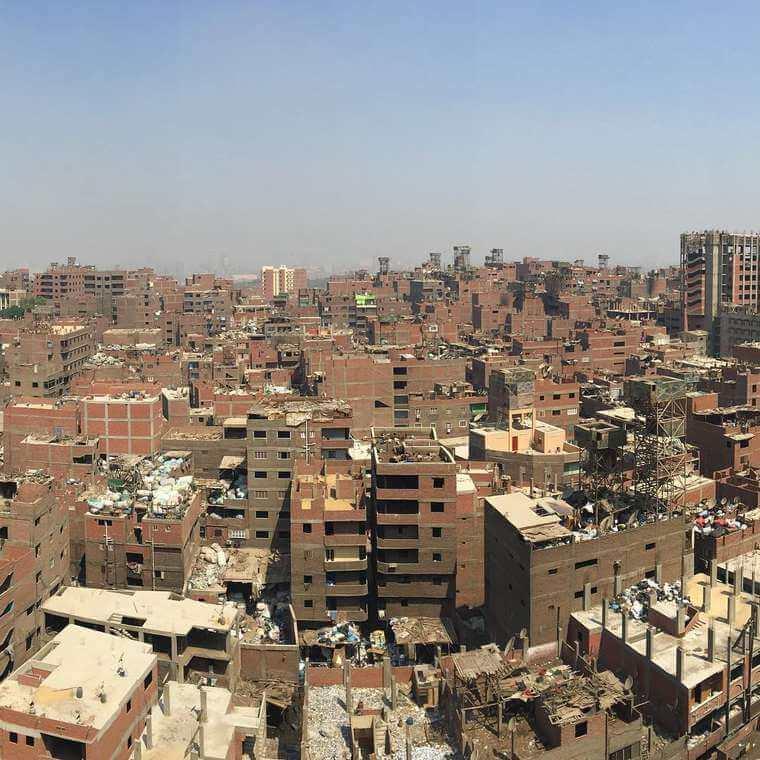 Artista francés realiza asombroso trabajo en el Cairo5