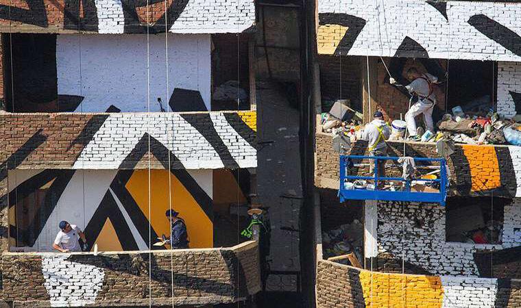Artista francés realiza asombroso trabajo en el Cairo7