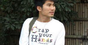 Singulares camisetas en inglés que circulan en Asia