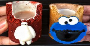 Deliciosos shots de galletas con tus personajes de la cultura pop favoritos