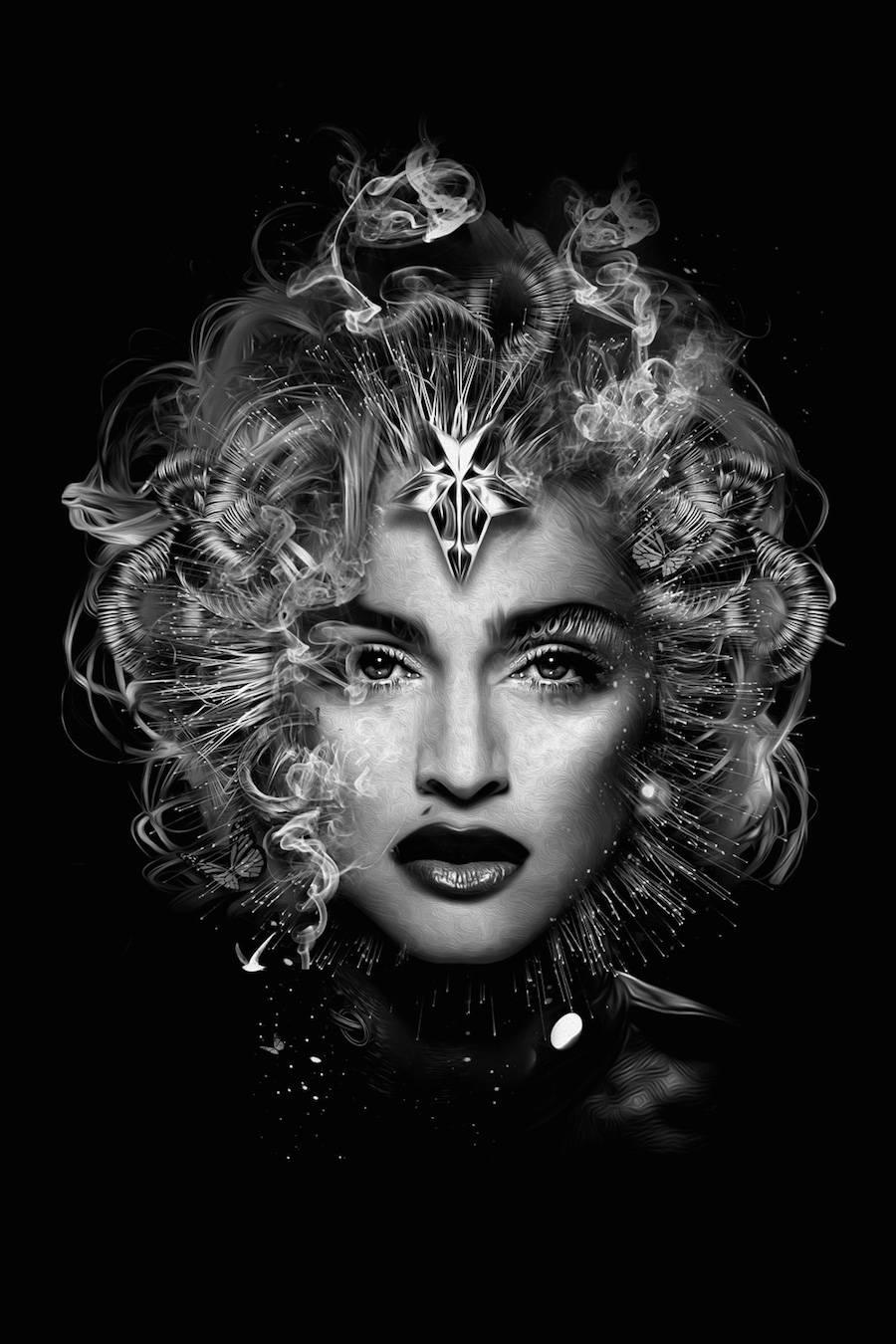 El lado oscuro de famosas divas madonna