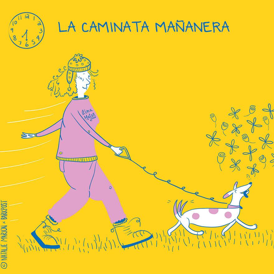 Eres la mamá de un lindo perro Entonces te sentirás identificada con las siguientes ilustraciones 0 (1)