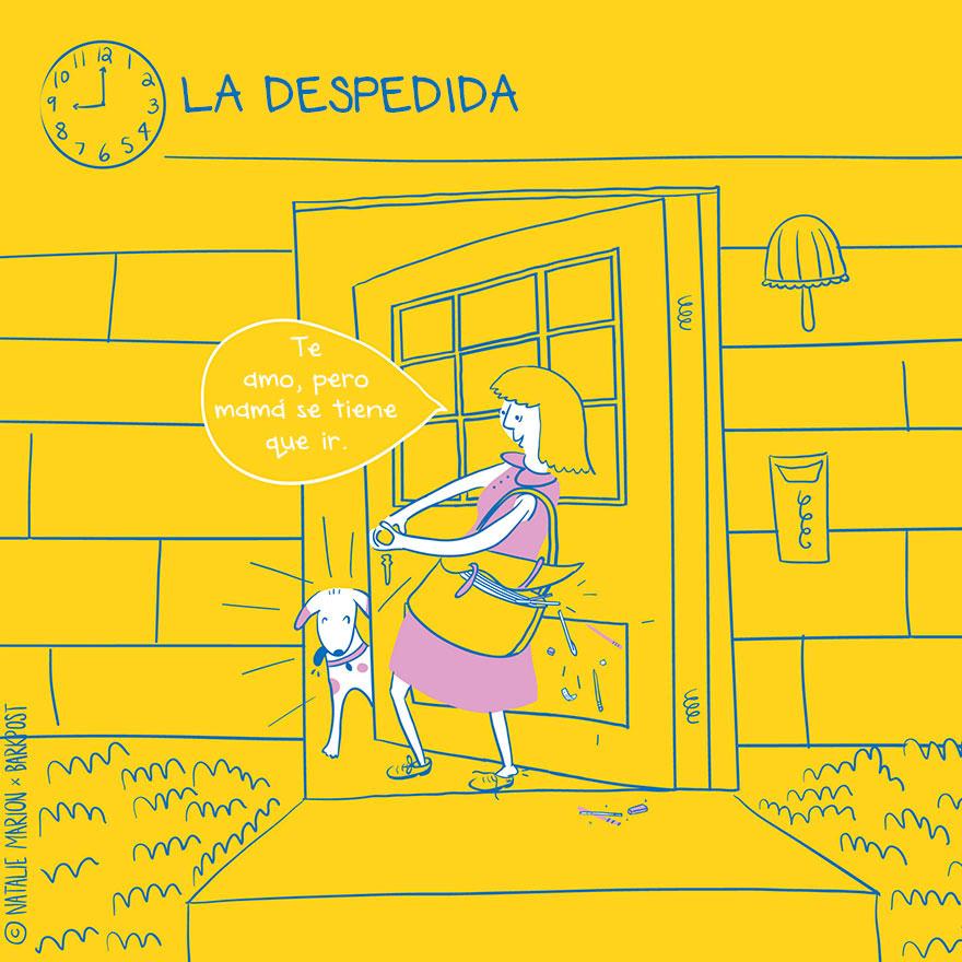 Eres la mamá de un lindo perro Entonces te sentirás identificada con las siguientes ilustraciones 03