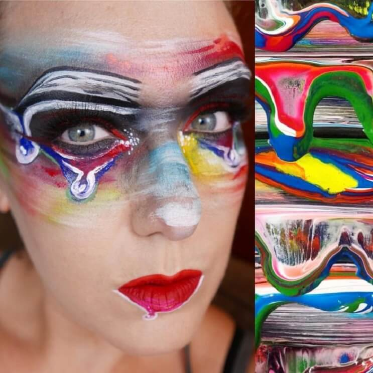 Esta-artista-recrea-obras-de-arte-usando-su-rostro-como-lienzo-01-1