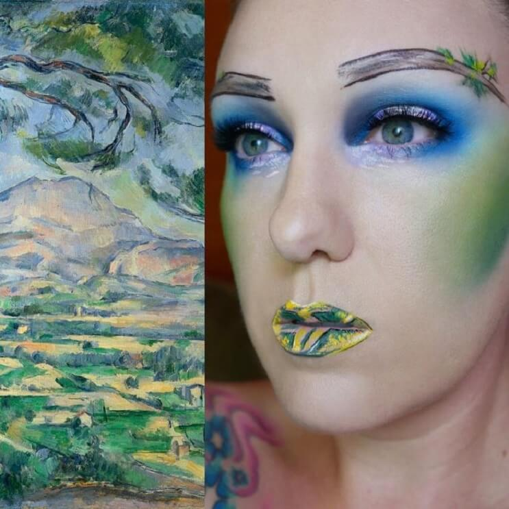Esta-artista-recrea-obras-de-arte-usando-su-rostro-como-lienzo-05-1