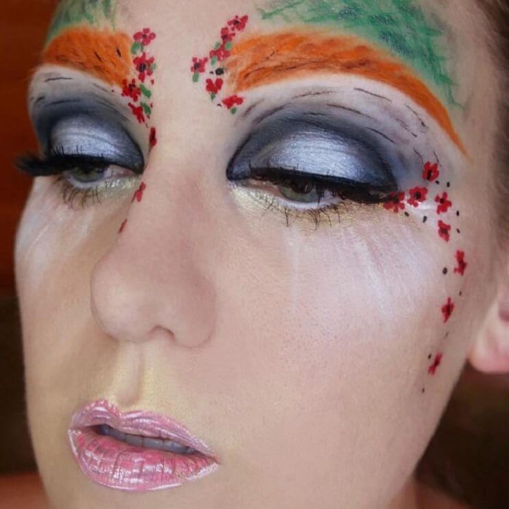 Esta-artista-recrea-obras-de-arte-usando-su-rostro-como-lienzo-08-1