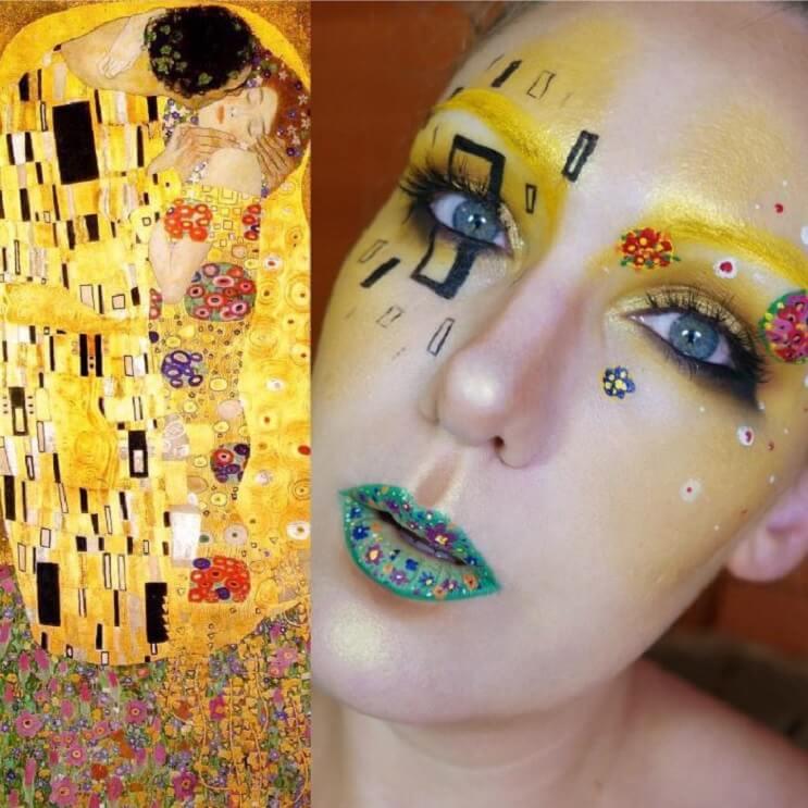 Esta-artista-recrea-obras-de-arte-usando-su-rostro-como-lienzo-13-1