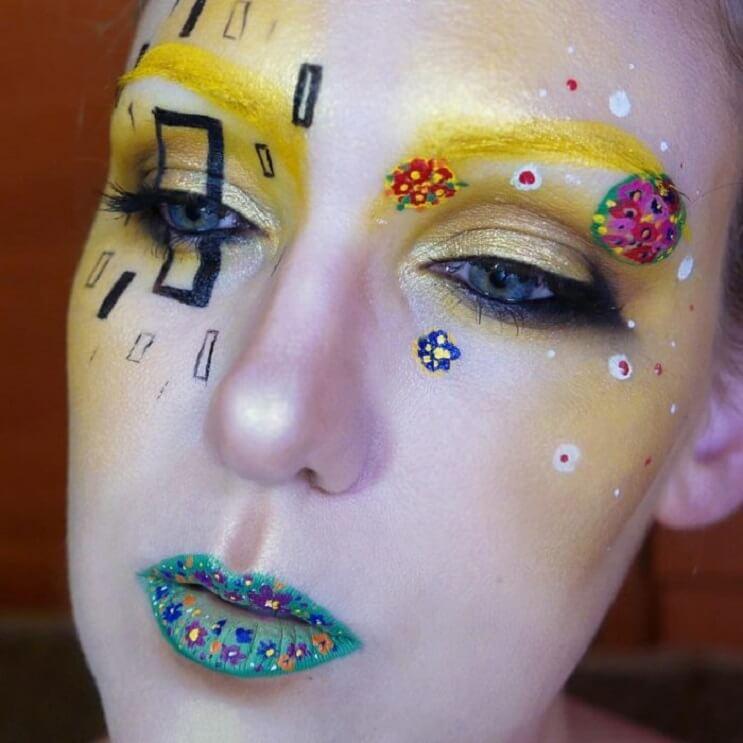 Esta-artista-recrea-obras-de-arte-usando-su-rostro-como-lienzo-14-1