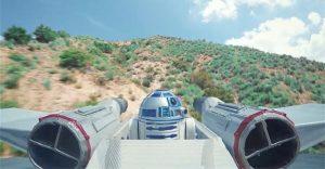 Esta batalla de drones de Star Wars a los fanáticos encantará